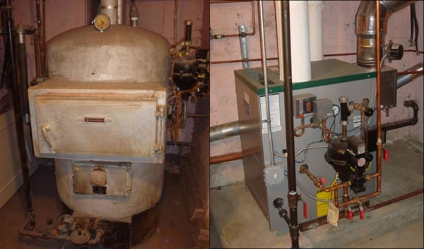 High Efficiency Oil And Gas Boilers In Stoughton Mass